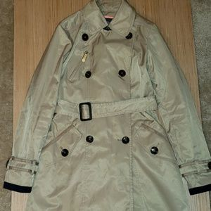 Vince Camuto trench coat size xs